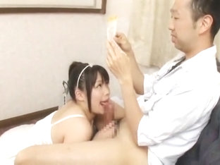 Best Japanese model An Shinohara in Crazy POV, Blowjob/Fera JAV clip