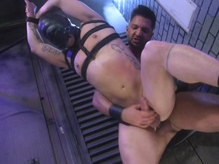 Brodie Ramirez,Dominic Pacifico in Alley Cat Slut: New boy Brodie Ramirez gets tormented & fuc.