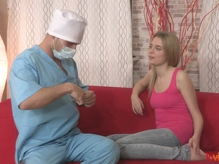 18videoz - Chloe Blue - Assfucked by the doctor