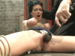 A Pussy That Swells Up When You Make It Cum  Cum  Cum.Suffering Never Looked So Beautiful. - HogTi.