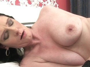Laura Dark in Mature Self Love Scene
