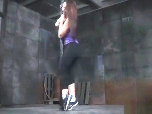 Jogger girl gagged in a basement
