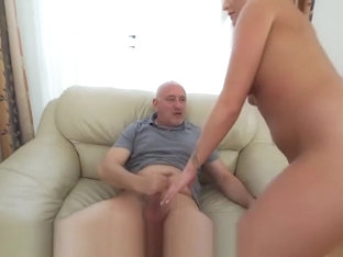 GrandpasFuckTeens Daisy Lee on Top of Old Hard Cock