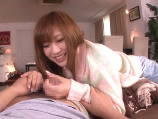 Horny Japanese chick Anna Anjo in Fabulous pov, handjobs JAV movie