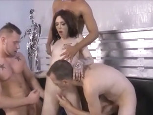Gangbang Annabelle Lane Fucked His Ass