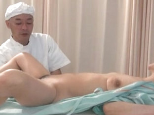 Mature Asian visits Doctor