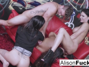 Alison Tyler  Dava Foxx  Jessica Jaymes in Sexual Energy Goes Wild In This Amazing 4-Way Of Fuckin.