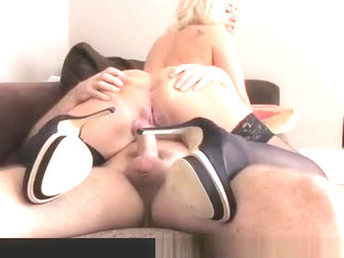 Love Creampie Dumb British slut lets boss fuck her in office job interview
