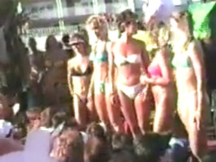 Candy Store Bikini Contest Fort Lauderdale Florida 3-8-86