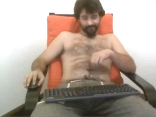Guys picking their belly buttons on live cam