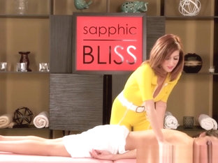 Busty Masseuse Scissoring With Lesbian Client