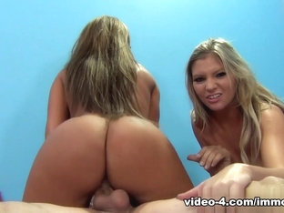 Incredible pornstars Richelle Ryan, Jennifer White, Brianna Brooks in Hottest Stockings, Cunniling.