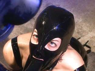 Incredible latex, fetish xxx video with hottest pornstar Elise Graves from Dungeonsex