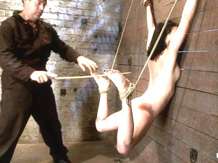 Brutal Flogging And Caning. Our Sexy Marketing Girl Can Take It, And Take It With A Smile. Sexy - .