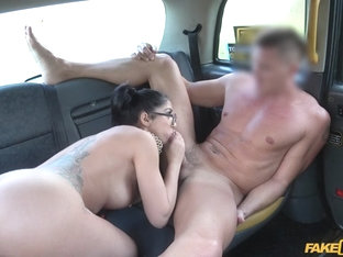Julia De Lucia & Mark Rose in Spanish Beauty Loves Taxi Cock - FakeTaxi