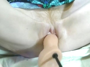 Creamy Female Ejaculation Cum Fucking Machine Mature Wife 4