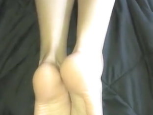 Thick cum on soles