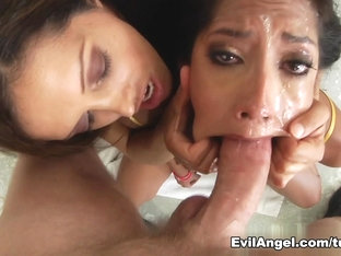 Incredible pornstars Chloe Amour, Mark Wood in Exotic Facial, Swallow porn movie