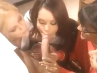 Randy Spears given a firm Blowjob