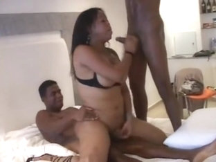 Fabulous shemale movie with Big Ass, Bareback scenes