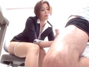 Hottest Japanese whore Yuri Kashiwaga, Rica Aiba, Arisa Yukine in Crazy Handjobs, Facial JAV scene