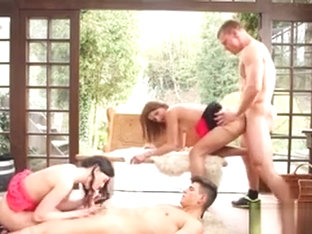 Bisex Foursome Fuck Ass