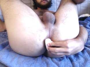Inserting a butt plug and fingering my ass