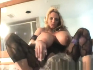 Busty Milf Smothers him in her Pussy and Ass