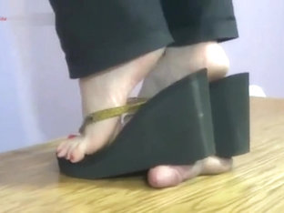 cock trample sandals
