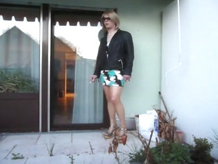 Horny homemade shemale clip with Outdoor, Solo scenes
