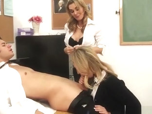 Blow job porn video featuring Tanya Tate and Charlee Monroe