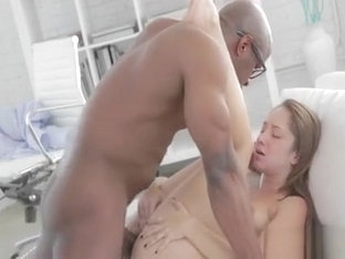 Enjoyable Teen Screams And Groans As She Gets Plowed Hard