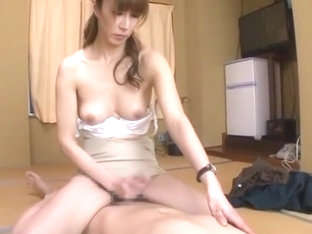 Hottest Japanese chick Arisa Yukine, Momo Kasuga, Rica Aiba in Horny Blowjob, Wife JAV clip