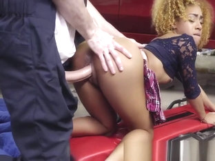 Hot Kendalls Tight Pussy Pounded Rough By Car Mechanic