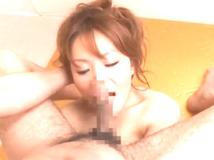 Fabulous Japanese slut Chichi Asada in Crazy Showers, POV JAV movie