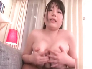 Busty Jun Mamiya sucks cock and gets pussy licked