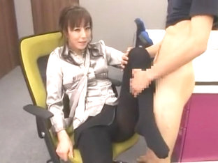 Fabulous Japanese slut Honami Takasaka in Horny Foot Job/Ashifechi, Foot Fetish JAV movie
