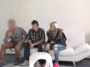 HUNT4K. Couple earns money by selling girl's wet pussy to stranger