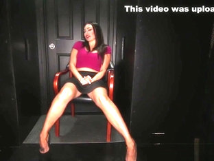 Hot mom goes to her favorite gloryhole to give blowjobs to strangers and swallow loads of cum