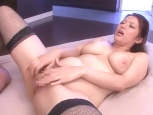 Hottest Japanese chick Meisa Hanai in Crazy Big Tits, Stockings/Pansuto JAV video
