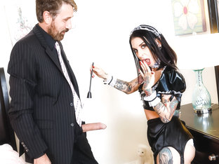 Joanna Angel & Steve Holmes in French Anal MILF Maids - Joanna Angel, Scene #01 - BurningAngel