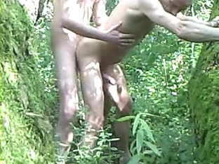 Homo two Boy-Friends Outdoor exposed Sex Bareback 2009