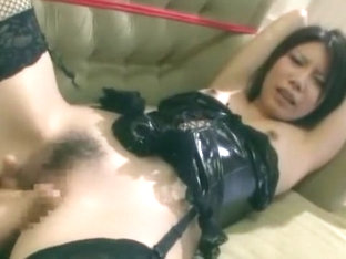 Best Japanese girl Reina Yuuki in Amazing Threesomes, DP/Futa-ana JAV video