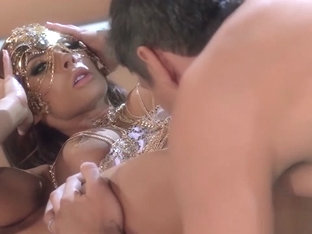Sorceress Madison Ivy gets her tiny asshole penetrated for the first time