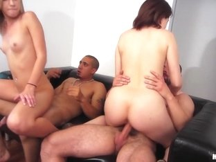 Calenita, Chloe Brooke, Kylie Kane, Nickey Huntsman - Double Doggy Dare