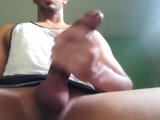 Huge Dominican cock masturbation 20 years old