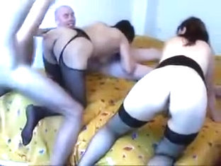 Two Serbian matures anal