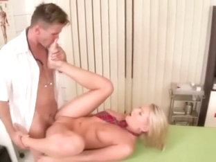Lucy Heart Doctor footjob