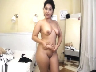 Busty Milf Removes Her Outfit