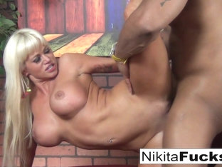 Nikita Von James in Nikita Gets Some Interracial Loving From A Big Black Dick - NikitaVonJames